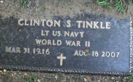 TINKLE  (VETERAN WWII), CLINTON SCHUYLER - Boone County, Arkansas | CLINTON SCHUYLER TINKLE  (VETERAN WWII) - Arkansas Gravestone Photos
