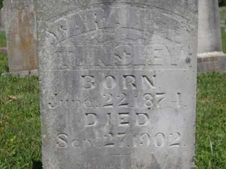 TINSLEY, SARAH T. - Boone County, Arkansas   SARAH T. TINSLEY - Arkansas Gravestone Photos