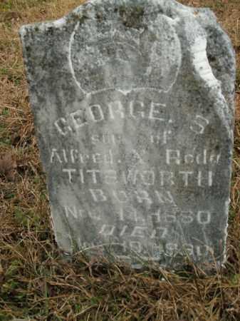 TITSWORTH, GEORGE S. - Boone County, Arkansas | GEORGE S. TITSWORTH - Arkansas Gravestone Photos