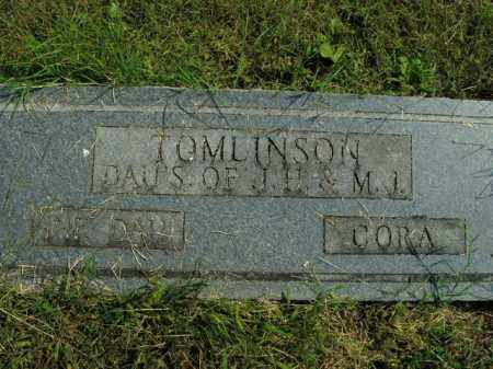 TOMLINSON, INF DAUGHTER - Boone County, Arkansas | INF DAUGHTER TOMLINSON - Arkansas Gravestone Photos