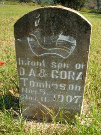 TOMLINSON, INFANT SON - Boone County, Arkansas   INFANT SON TOMLINSON - Arkansas Gravestone Photos