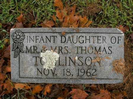 TOMLINSON, INFANT DAUGHTER - Boone County, Arkansas | INFANT DAUGHTER TOMLINSON - Arkansas Gravestone Photos