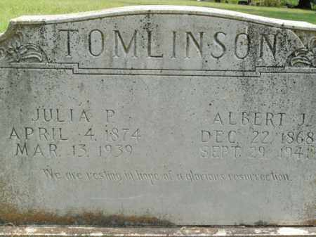 TOMLINSON, JULIA P. - Boone County, Arkansas | JULIA P. TOMLINSON - Arkansas Gravestone Photos