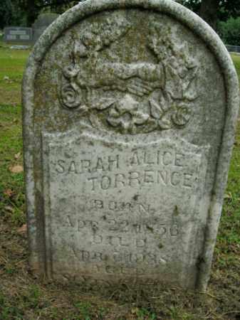 TORRENCE, SARAH ALICE - Boone County, Arkansas | SARAH ALICE TORRENCE - Arkansas Gravestone Photos