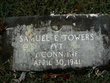 TOWERS  (VETERAN UNION), SAMUEL E - Boone County, Arkansas | SAMUEL E TOWERS  (VETERAN UNION) - Arkansas Gravestone Photos