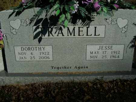 TRAMELL, JESSE - Boone County, Arkansas   JESSE TRAMELL - Arkansas Gravestone Photos