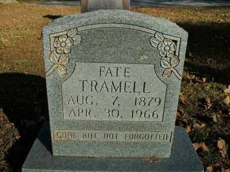TRAMELL, FATE - Boone County, Arkansas | FATE TRAMELL - Arkansas Gravestone Photos