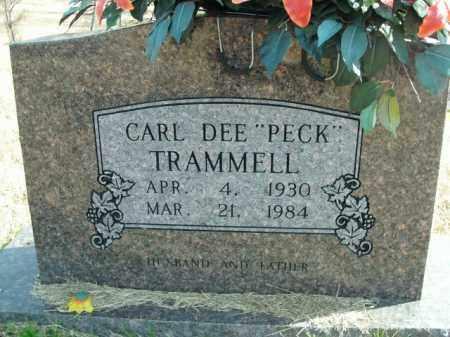 TRAMMELL, CARL DEE - Boone County, Arkansas | CARL DEE TRAMMELL - Arkansas Gravestone Photos