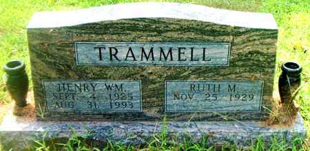 TRAMMELL, HENRY WM. - Boone County, Arkansas | HENRY WM. TRAMMELL - Arkansas Gravestone Photos