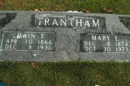 TRANKHAM, MARY E. - Boone County, Arkansas | MARY E. TRANKHAM - Arkansas Gravestone Photos