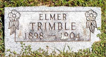 TRIMBLE, ELMER - Boone County, Arkansas   ELMER TRIMBLE - Arkansas Gravestone Photos