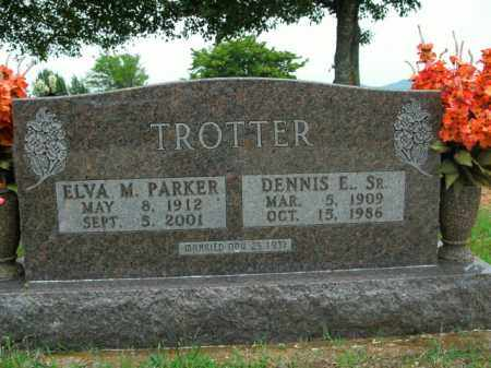TROTTER, ELVA MAE - Boone County, Arkansas   ELVA MAE TROTTER - Arkansas Gravestone Photos
