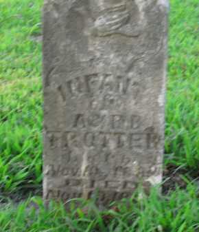 TROTTER, INFANT - Boone County, Arkansas | INFANT TROTTER - Arkansas Gravestone Photos