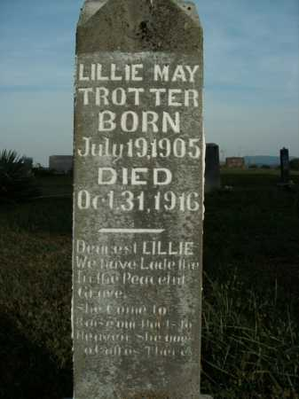 TROTTER, LILLIE MAY - Boone County, Arkansas   LILLIE MAY TROTTER - Arkansas Gravestone Photos