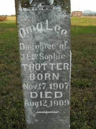 TROTTER, OMA LEE - Boone County, Arkansas   OMA LEE TROTTER - Arkansas Gravestone Photos