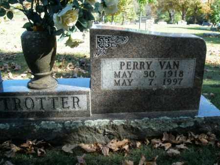 TROTTER, PERRY VAN - Boone County, Arkansas   PERRY VAN TROTTER - Arkansas Gravestone Photos