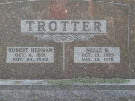 TROTTER, NELLE B. - Boone County, Arkansas | NELLE B. TROTTER - Arkansas Gravestone Photos