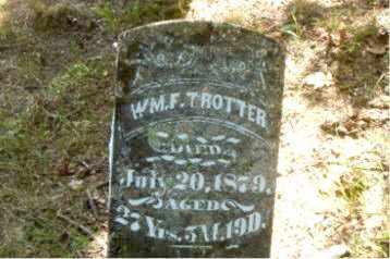 TROTTER, WILLIAM F. - Boone County, Arkansas   WILLIAM F. TROTTER - Arkansas Gravestone Photos