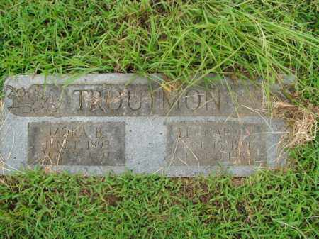 TROUTMAN, IZORA B. - Boone County, Arkansas | IZORA B. TROUTMAN - Arkansas Gravestone Photos