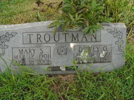 TROUTMAN, MARY S. - Boone County, Arkansas | MARY S. TROUTMAN - Arkansas Gravestone Photos