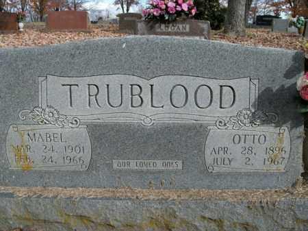 TRUBLOOD, MABEL - Boone County, Arkansas | MABEL TRUBLOOD - Arkansas Gravestone Photos