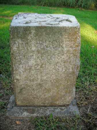 TUCKER, D.W. - Boone County, Arkansas | D.W. TUCKER - Arkansas Gravestone Photos