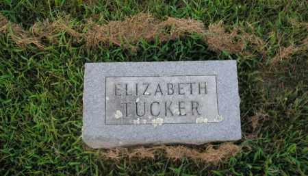 TUCKER, ELIZABETH - Boone County, Arkansas | ELIZABETH TUCKER - Arkansas Gravestone Photos