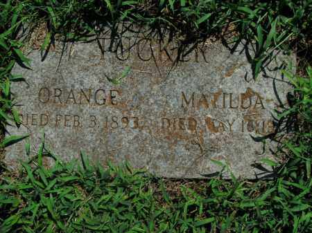 TUCKER, MATILDA - Boone County, Arkansas | MATILDA TUCKER - Arkansas Gravestone Photos