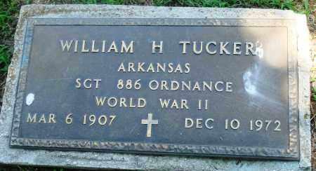 TUCKER (VETERAN WWII), WILLIAM H - Boone County, Arkansas   WILLIAM H TUCKER (VETERAN WWII) - Arkansas Gravestone Photos