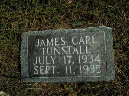 TUNSTALL, JAMES CARL - Boone County, Arkansas | JAMES CARL TUNSTALL - Arkansas Gravestone Photos