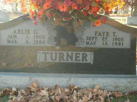 TURNER, FAYE T. - Boone County, Arkansas | FAYE T. TURNER - Arkansas Gravestone Photos