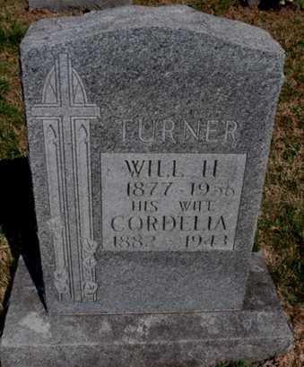 TURNER, CORDELIA - Boone County, Arkansas | CORDELIA TURNER - Arkansas Gravestone Photos