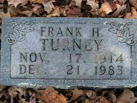 TURNEY, FRANK H. - Boone County, Arkansas | FRANK H. TURNEY - Arkansas Gravestone Photos