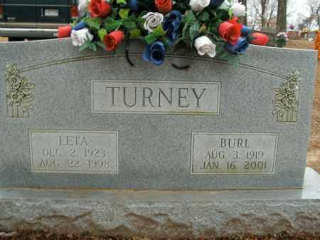 TURNEY, BURL - Boone County, Arkansas   BURL TURNEY - Arkansas Gravestone Photos