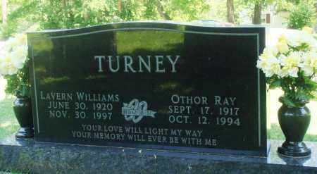 WILLIAMS TURNEY, LAVERN - Boone County, Arkansas | LAVERN WILLIAMS TURNEY - Arkansas Gravestone Photos