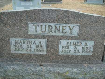 TURNEY, ELMER B. - Boone County, Arkansas | ELMER B. TURNEY - Arkansas Gravestone Photos