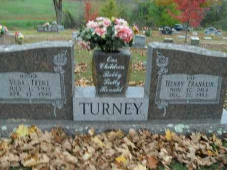 TURNEY, VEDA IRENE - Boone County, Arkansas | VEDA IRENE TURNEY - Arkansas Gravestone Photos