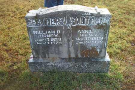 TURNEY, WILLIAM  BOWMAN - Boone County, Arkansas   WILLIAM  BOWMAN TURNEY - Arkansas Gravestone Photos