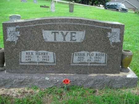 TYE, ESSIE FLO - Boone County, Arkansas | ESSIE FLO TYE - Arkansas Gravestone Photos