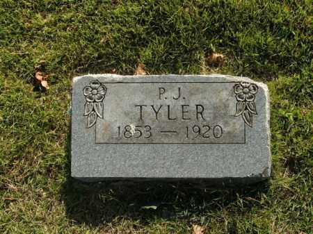 TYLER, P.J. - Boone County, Arkansas   P.J. TYLER - Arkansas Gravestone Photos