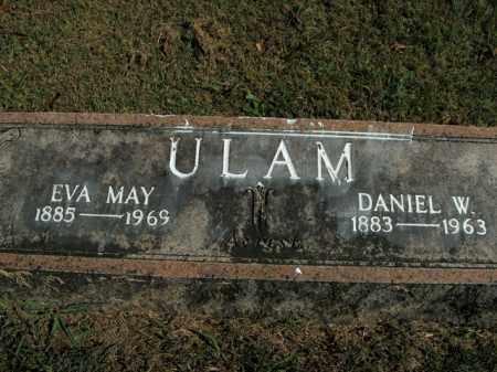 ULAM, DANIEL W. - Boone County, Arkansas | DANIEL W. ULAM - Arkansas Gravestone Photos