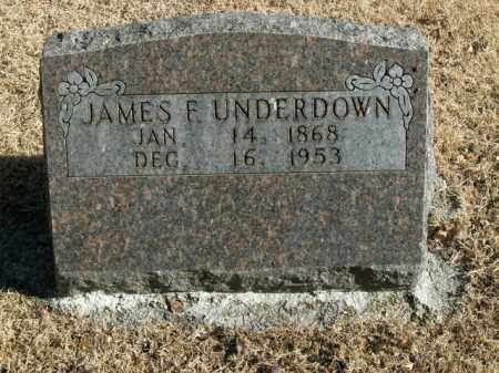 UNDERDOWN, JAMES FRANKLIN - Boone County, Arkansas | JAMES FRANKLIN UNDERDOWN - Arkansas Gravestone Photos