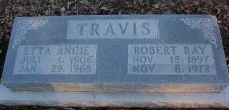 TRAVIS, ETTA ANGIE - Boone County, Arkansas | ETTA ANGIE TRAVIS - Arkansas Gravestone Photos