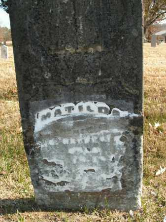 YOUNG (?), MATILDA - Boone County, Arkansas | MATILDA YOUNG (?) - Arkansas Gravestone Photos