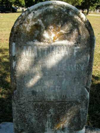 UNKNOWN, MATTHEW F - Boone County, Arkansas | MATTHEW F UNKNOWN - Arkansas Gravestone Photos