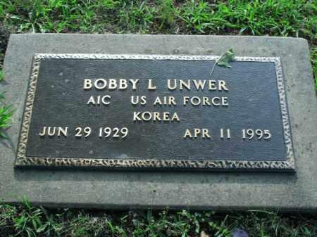UNWER  (VETERAN KOR), BOBBY LEE - Boone County, Arkansas   BOBBY LEE UNWER  (VETERAN KOR) - Arkansas Gravestone Photos