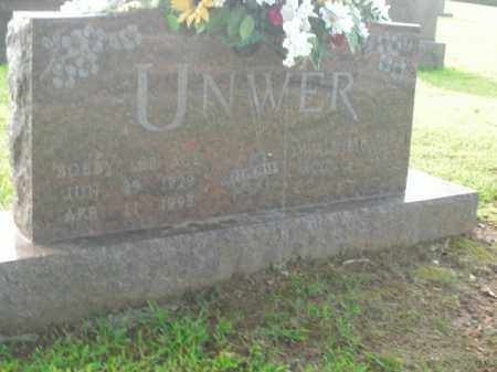UNWER, BOBBY LEE (ACE) - Boone County, Arkansas | BOBBY LEE (ACE) UNWER - Arkansas Gravestone Photos