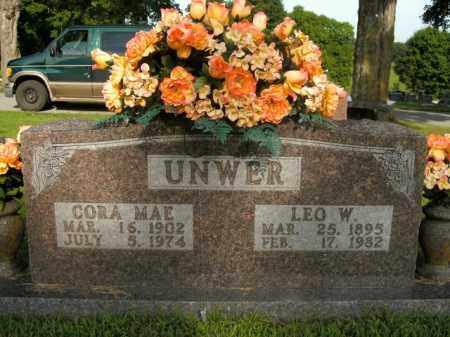 UNWER, LEO WALTER - Boone County, Arkansas | LEO WALTER UNWER - Arkansas Gravestone Photos
