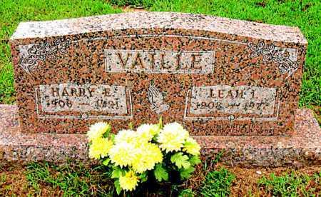 VAILLE, HARRY E - Boone County, Arkansas | HARRY E VAILLE - Arkansas Gravestone Photos