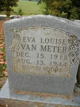 VAN METER, EVA LOUISE - Boone County, Arkansas | EVA LOUISE VAN METER - Arkansas Gravestone Photos